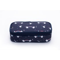 Navy Blue Unicorn Pencil Box