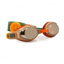 Petrified Green Funny Bones Swim Goggles