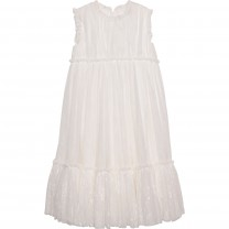 White Sleveless Isabella Dress