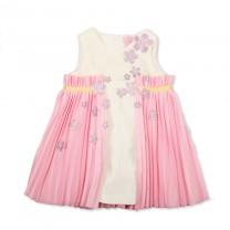 Sakura Pleated Dress ( 6 - 8 years)