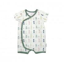 Green Lighthouse Babysuit