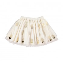 Ivory Tulle Skirt Set