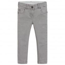 Grey Stars Skinny Fit Jeans