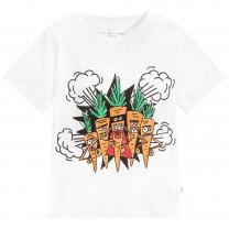 White Carrot Cotton T-Shirt