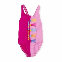 Pink Embellishment Swimsuit