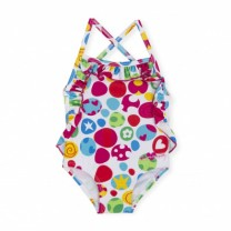 Multicolor Patterned Swimsuit