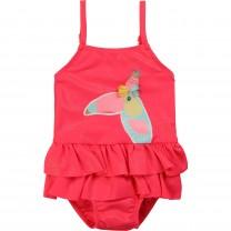 Fuschia Toucan Baby Swimwear