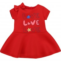 Red Love Graphic Dress