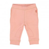 Ribbed Peach Trouser