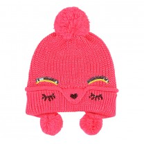 Bright Pink Knitted Hat