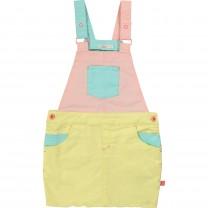 Multicolor Overall Dress