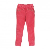Fuchsia Zipper Trouser