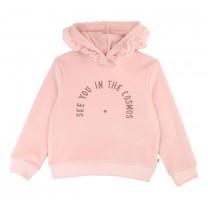 Pink Velour Sweatshirt