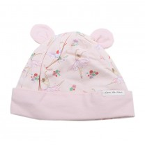 Knit Hat with Ballerina Print