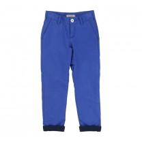 Blue Folded Trouser