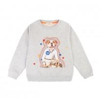 Grey Tennis Dog Sweatshirt