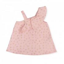 Baby Pink Off Shoulder Dress