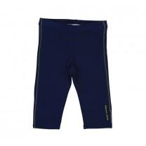 Navy Blue Cotton Leggings