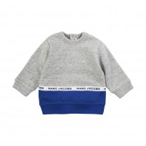 Grey and Navy Sweater
