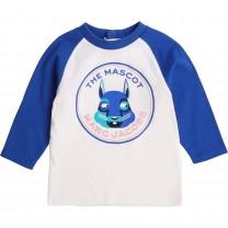 White & Blue Marc Mascot T-Shirt