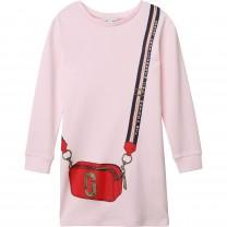 Baby Pink Snapshot Dress