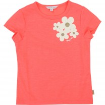 Pink Golden Flower T-shirt