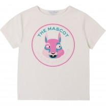 White and Pink Marc Mascot T-Shirt