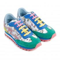 Multi-Color Peanut Shoes