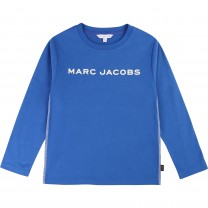 Blue Logo Long Sleeve T-Shirt