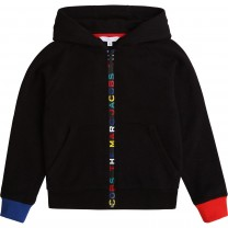Black Rainbow Logo Hooded Sweater