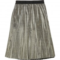 Gold Pleated Skirt (14 - 16 years)