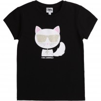 Black Choupette T-Shirt