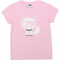 Baby Pink Choupette T-Shirt