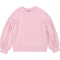 Baby Pink Logo Sweater