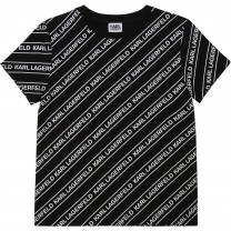 Black and White All Over T-Shirt