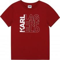 Dark Red Logo T-Shirt