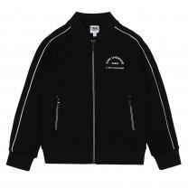 Black Navy Tracksuit Jacket