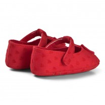 Red Heart Crib Shoes