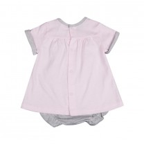 Soft Pink Rabbit Baby Set