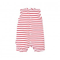 Red Striped Lady Bug Babygrow