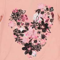 Flowery Pink Long Sleeves