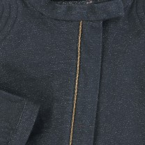 Grey Sparkly Biker Jacket