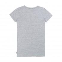 Baby Grey Cotton Dress