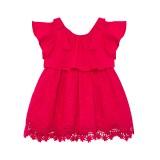 Baby Girl Fuschia Lace Dress