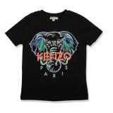 Black James Elephant Boy T-Shirt