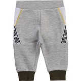 Grey Side Logo Baby Joggeers