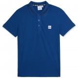 Blue Logo Polo Shirt