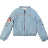 Reversible Bomber Denim Jacket