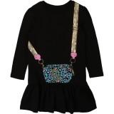 Black Snapshot Dress