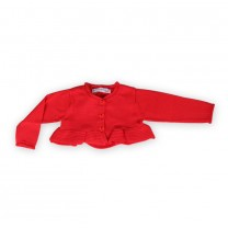 Red Bolero Cardigan